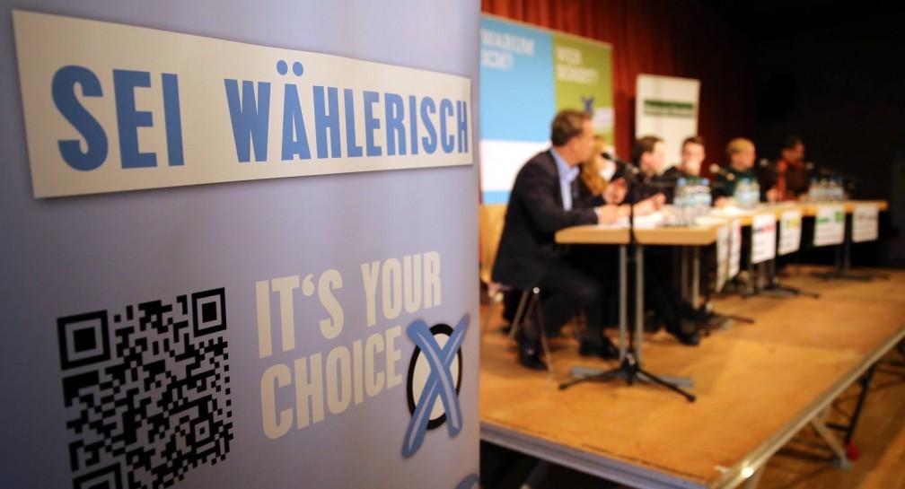 It's your choice – Politische Schultour zur Bürgerschaftswahl 2015 image
