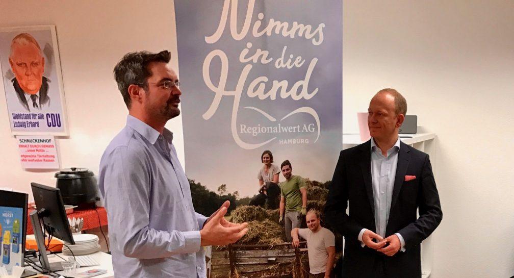 Regionale Küche – Hamburgs Landwirtschaft stellt sich vor image
