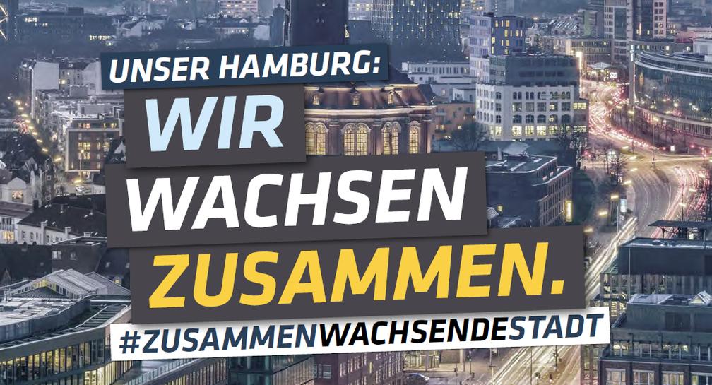 Unser Hamburg: Wir wachsen zusammen. image