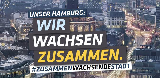 Unser Hamburg: Wir wachsen zusammen.