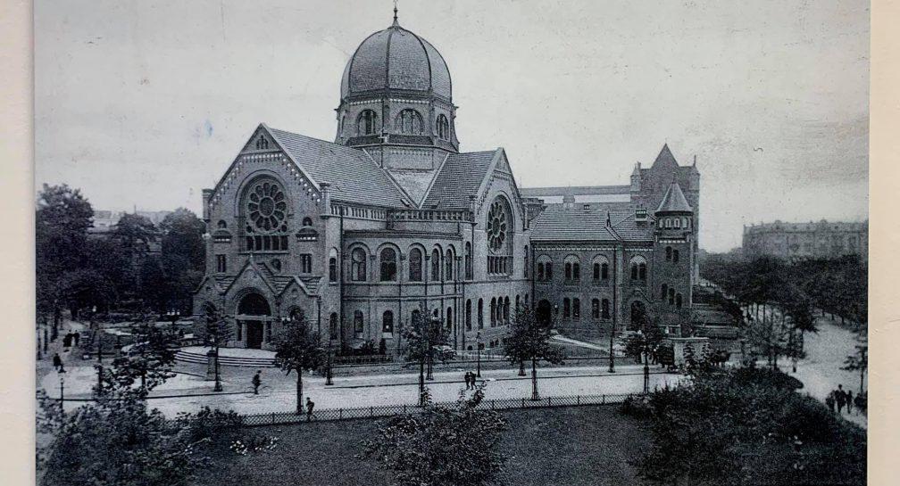 Wiederaufbau der Bornplatzsynagoge image