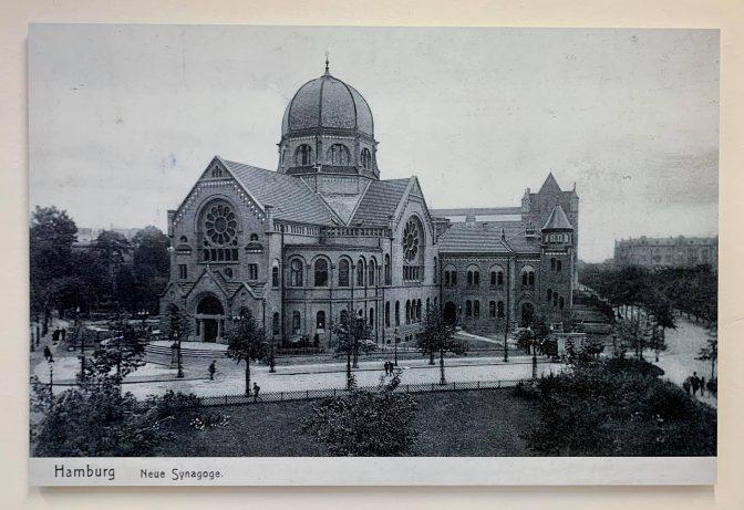 Wiederaufbau der Bornplatzsynagoge